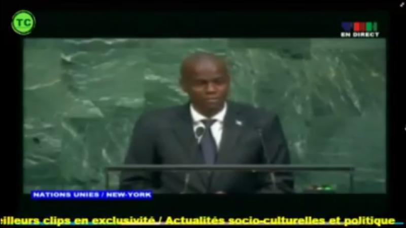 En direct Discours complet du président Jovenel dans la 72e assemblée générale des Nations Unies