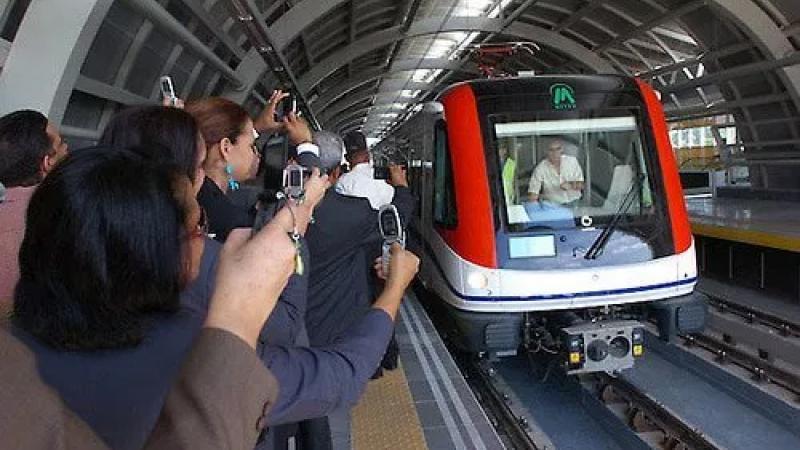 Une nouvelle ligne de métro inaugurée lundi à Santo Domingo