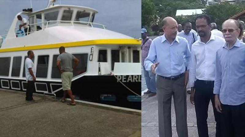 Case-Pilote enfin reliée à Fort-de-France par la mer