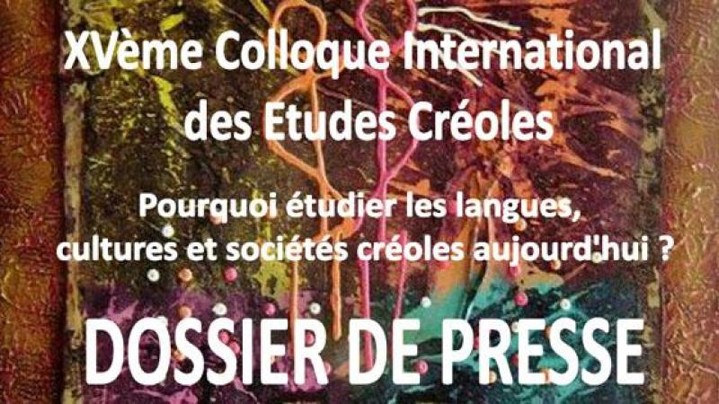 15e colloque  international des études créoles