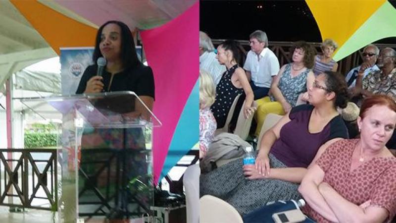 XVè Colloque International des Etudes créoles : le Pr Corinne Mencé-Caster (Université de la Sorbonne) fait l'état des lieux des littératures caribéennes