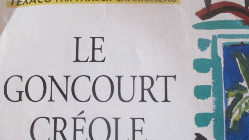 TEXACO de Patrick CHAMOISEAU, PRIX GONCOURT 1992, ou la façon dont cette distinction a été perçue en France et en Martinique.