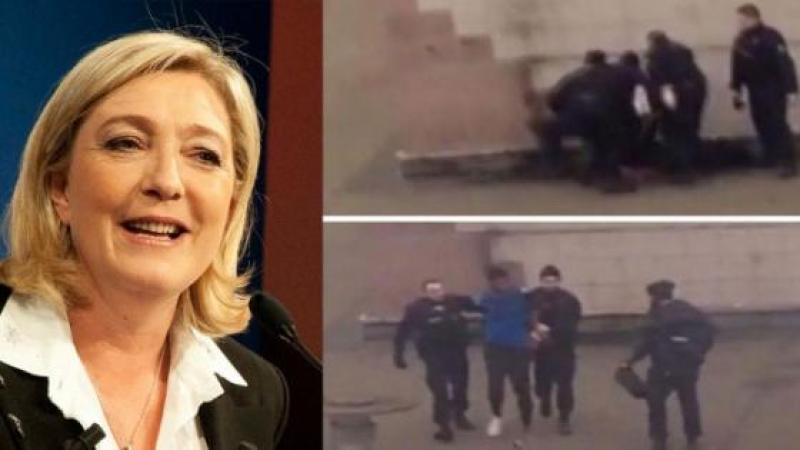 LE PEN: « THEO A ETE MOINS SODOMISE PAR NOS POLICIERS QUE LES FRANÇAIS PAR FRANÇOIS HOLLANDE »