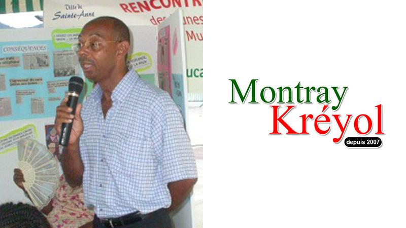 Jean-Luc Ega soutient Montray Kréyol