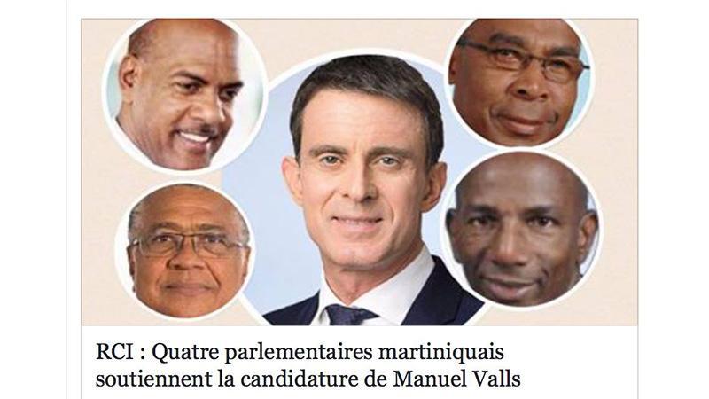 """QUAND ILS SOUTENAIENT LA CANDIDATURE DE MANUEL VALLS, CELUI QUI VOULAIT PLUS DE """"BLANCS"""" SUR LES MARCHES DE SA VILLE !"""