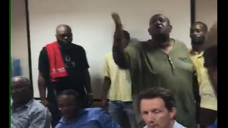 """Des salariés de la CFTU à Alfred MARIE-JEANNE : """"Vié chaben ki ou yé !"""""""