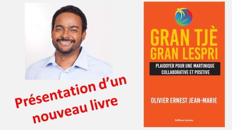 """Conférence - Débat : """"Gran Tjè, Gran Lespri. Plaidoyer pour une Martinique collaborative et positive"""""""