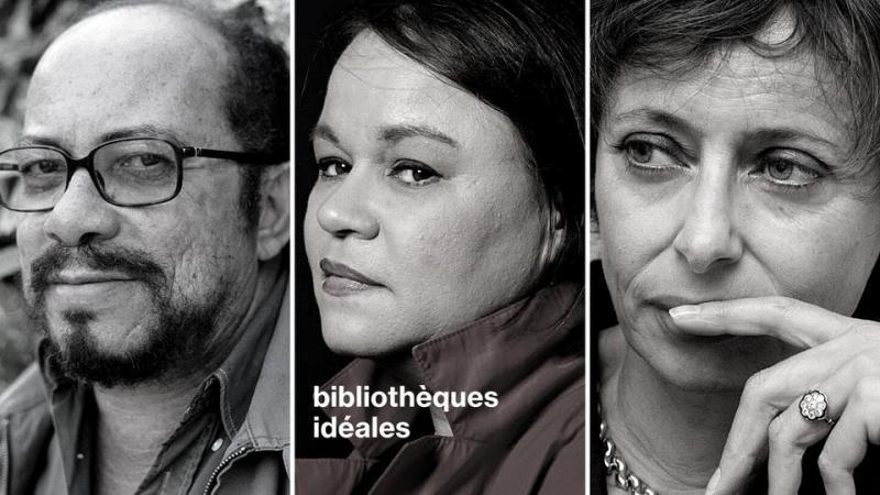 Raphaël Confiant, Zoé Valdés et Annie Cohen-Solal