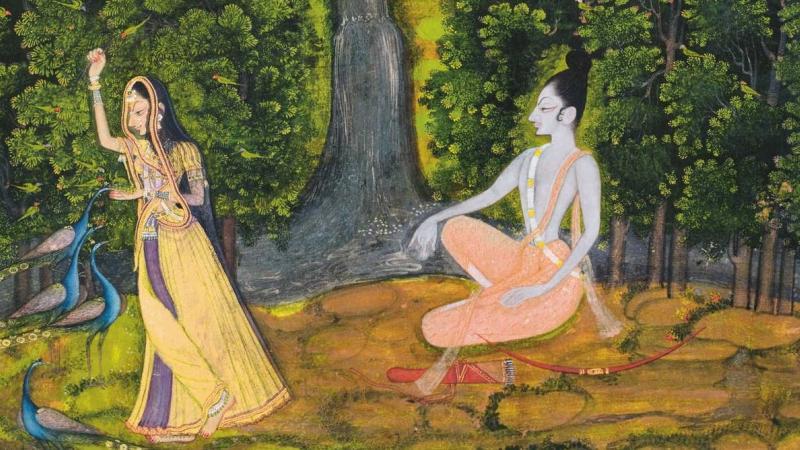 La forêt, lieu symbolique et mythique des récits traditionnels indiens