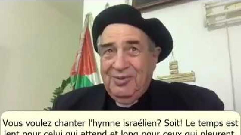 """""""VOUS REMETTEZ LES CLES DE JERUSALEM AUX SIONISTES DONT LES MAINS SONT MACULEES DU SANG DES CHRETIENS ET DES MUSULMANS PALESTINIENS !"""""""