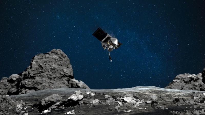 La sonde américaine Osiris-Rex va « embrasser » un astéroïde mardi