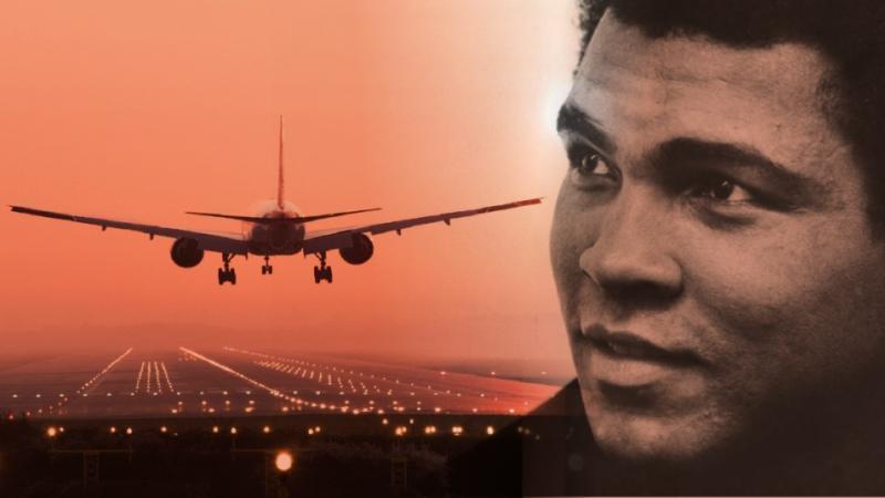 "l'aéroport international de Louisville a été renommé en ""aéroport Muhammed Ali"""