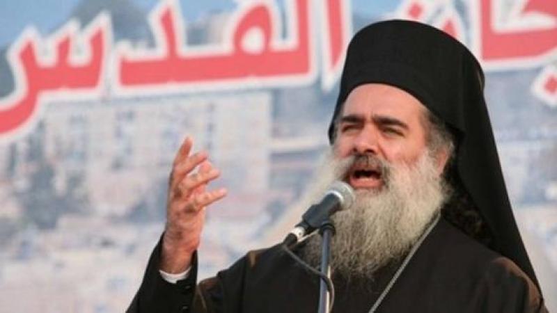 L'archevêque Hanna appelle à protéger les lieux saints chrétiens et musulmans de Jérusalem