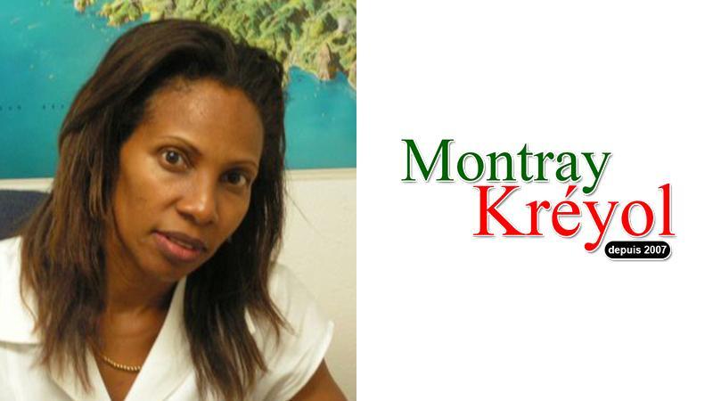 Lindy-ann Alexander ka soutienn Montray Kréyol