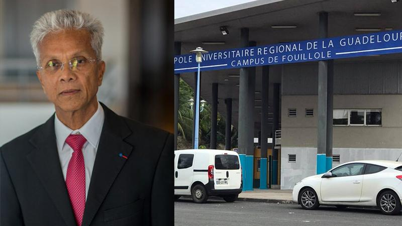 Eustase Janky, président de l'Université des Antilles, répond aux syndicats