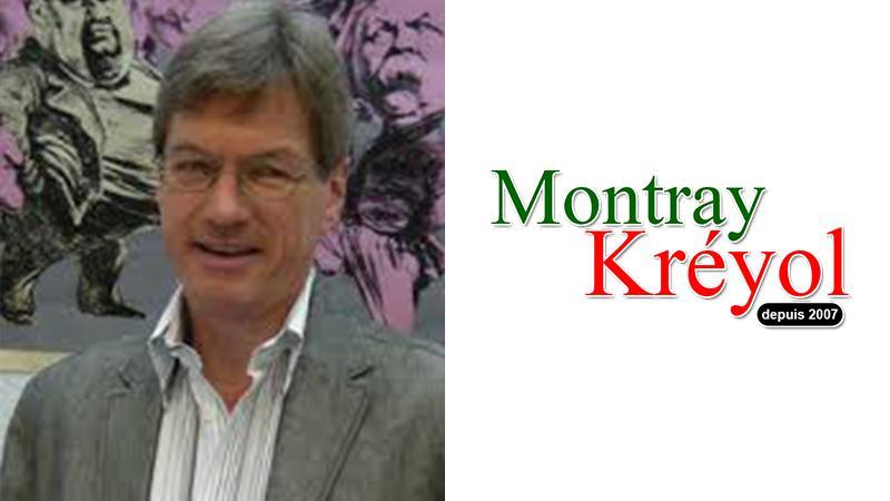 Ralph Ludwig (Université de Halle, Allemagne) soutient Montray Kréyol