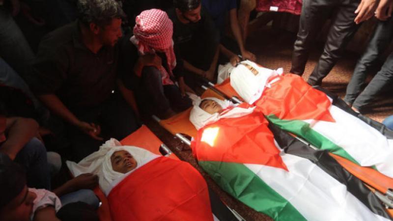 Territoires occupés : en 2018, Israël a assassiné 56 enfants palestiniens
