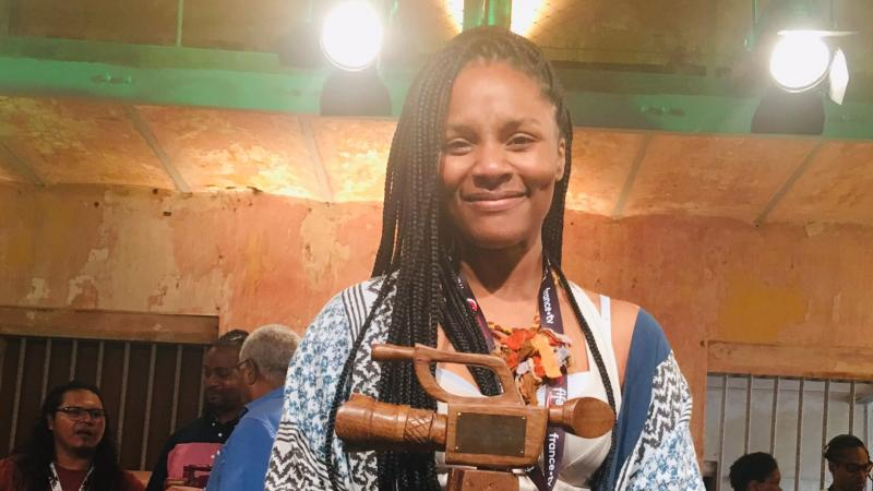 « Douvanjou ka leve » de Gessica Généus rafle son 8e prix en 3 ans