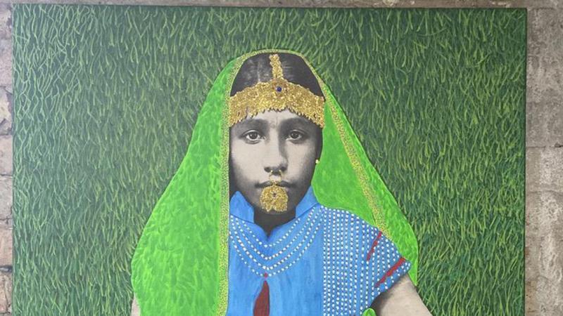 In new exhibition, Trinidadian-born Renluka Maharaj reimagines Indian indentureship in technicolor