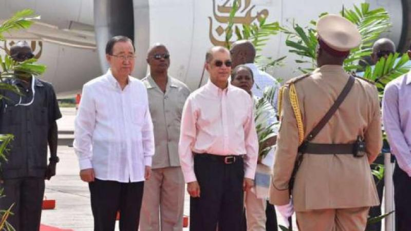 Ban Ki-moon salue la ratification de l'Accord de Paris par les Seychelles