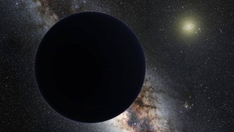 La neuvième planète aurait fait basculer les orbites du Système solaire