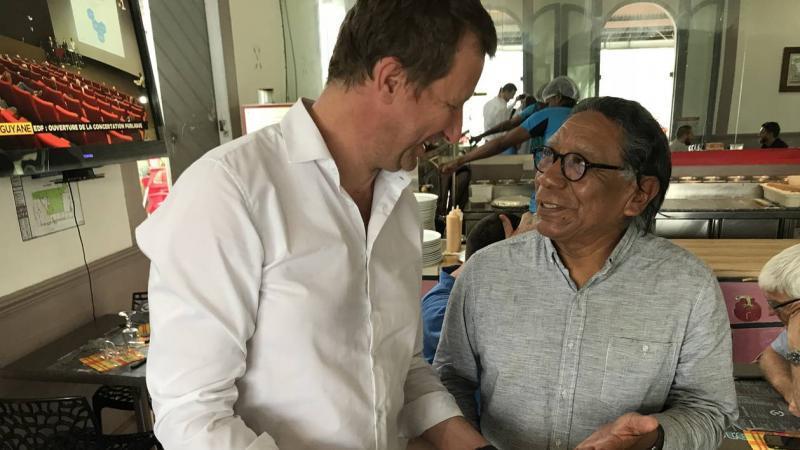 Un Amérindien de Guyane sur la liste européenne de l'écologiste Yannick Jadot