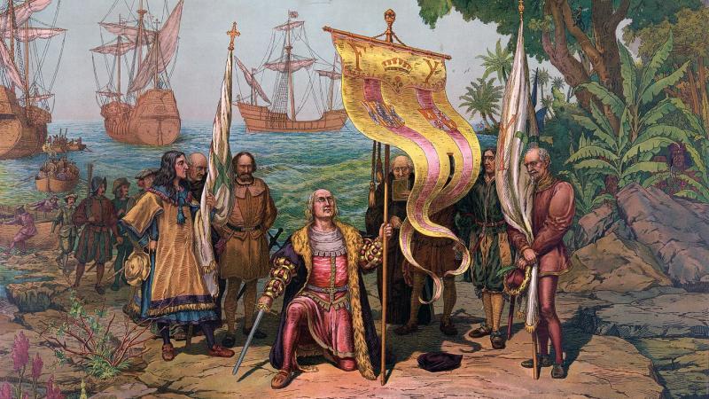 12 octobre 1492 : Colomb et sa bande de dingues