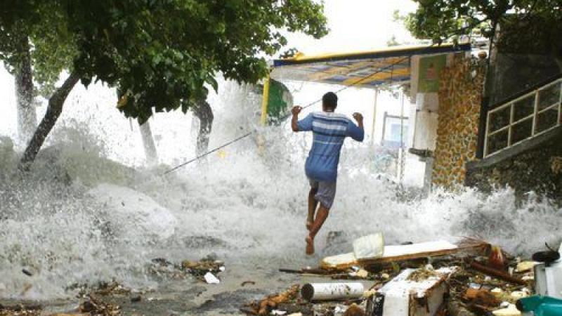 Comment le cyclone Dean avait déjà préparé certains au confinement