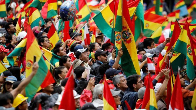 BOLIVIE :  Un coup d'état criminel de plus contre les peuples !