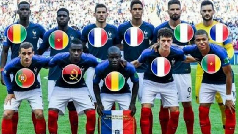 Mondial de foot : l'effet pervers du noirisme