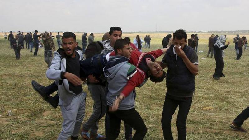 Gaza : Izrayel ka dépotjolé sé Palestinien men djol tout moun fèmen