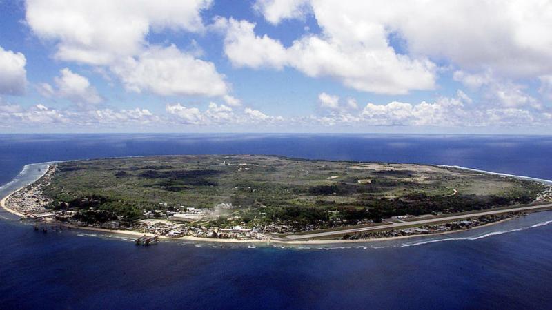 LA REPUBLIQUE DE NAURU (21 km2) VOTRE CONTRE LES...ETATS-UNIS