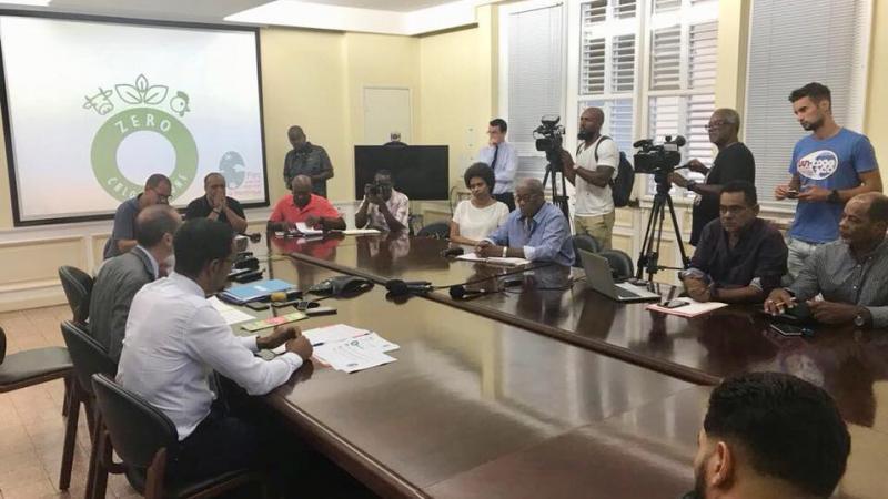 """L'Etat se rallie au """"Label Zéro Chlordécone"""" du Parc Naturel de la Martinique"""