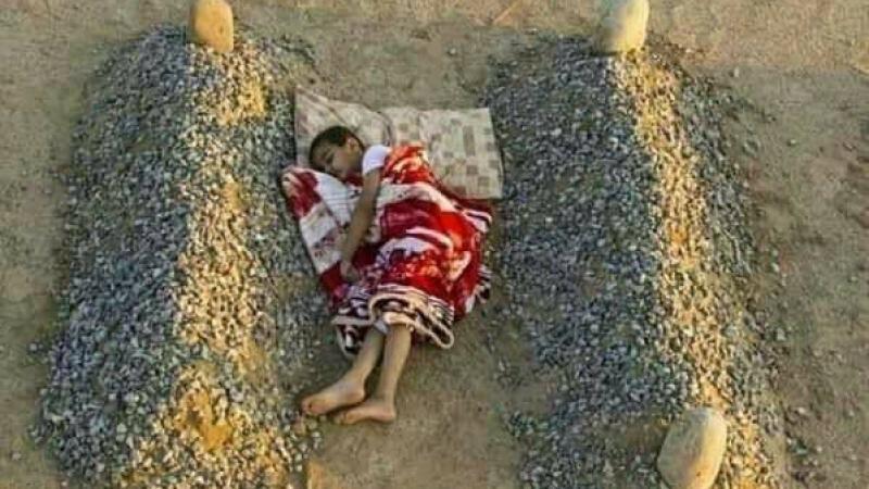 Le jeune garçon syrien et la mort