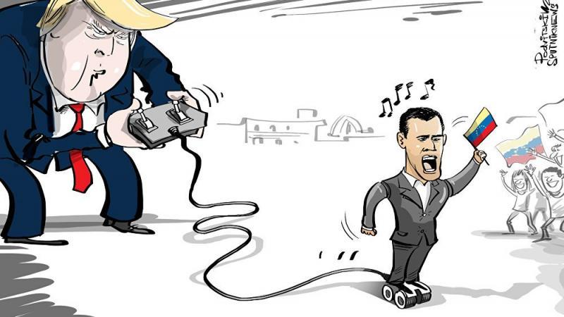 Así fabricó Estados Unidos al Presidente Guaidó