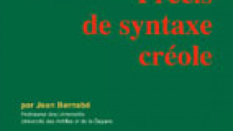 Précis de syntaxe créole