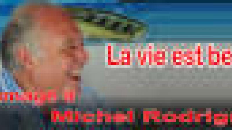 DEUX-TROIS MOTS D'HOMMAGE A MICHEL RODRIGUEZ, FONDATEUR DE CANAL 10