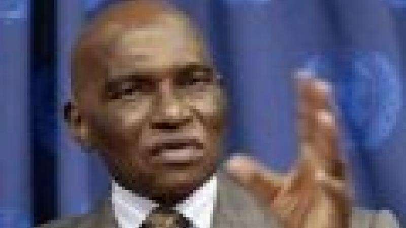 ABDOULAYE WADE, PRESIDENT DU SENEGAL : « LES HAÏTIENS DOIVENT RETOURNER EN AFRIQUE ! »