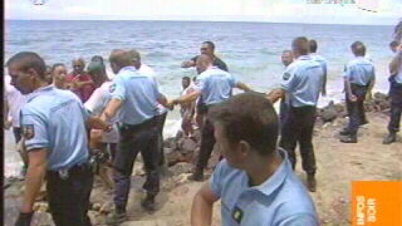 LITTORAL DE SAINTE-LUCE : LES CALDOCHES PERSISTENT ET SIGNENT