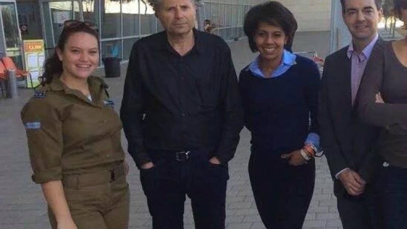 Quand l'amie de la soldatesque sioniste donne des leçons au footballeur Ribéry...