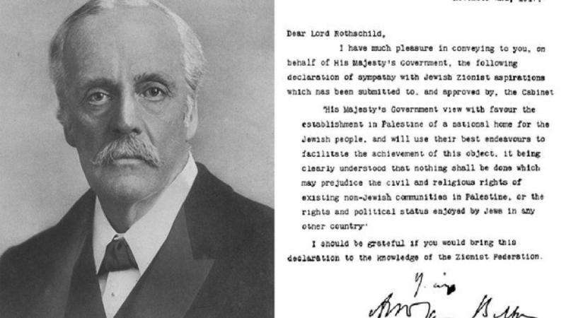 La déclaration Balfour : étude de la duplicité britannique