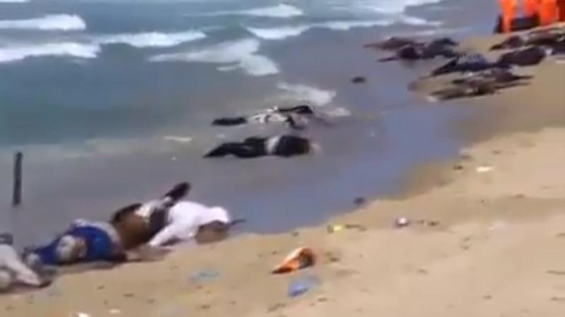 Ces images que CNN et les télés occidentales ne montrent que furtivement...