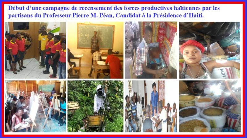 PIERRE PEAN CANDIDAT A LA PRESIDENCE D'HAITI