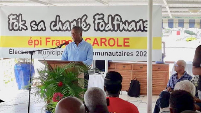 LE COURAGE DE FRANCIS CAROLE