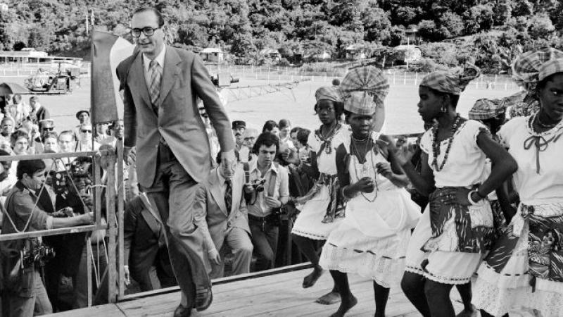Jacques CHIRAC, le « faux ennemi » de la gauche martiniquaise