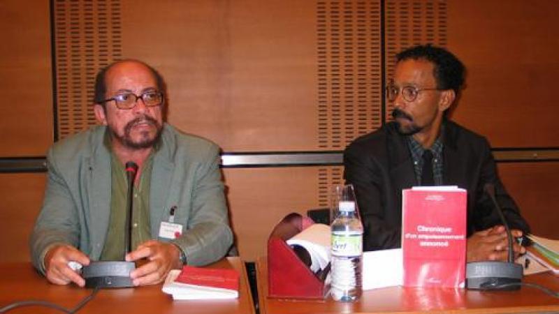 Février 2007, conférence de presse à l'Assemblée nationale française...