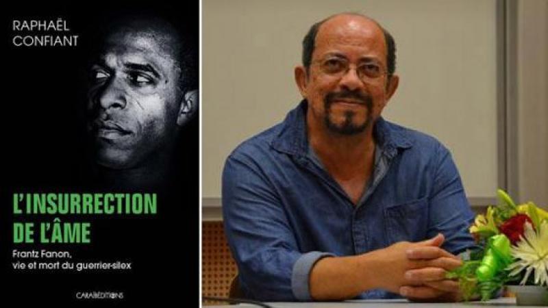 """""""L'insurrection de l'âme"""", le nouveau livre événement de l'écrivain martiniquais Raphaël Confiant sur Frantz Fanon [INTERVIEW] - outre-mer 1ère"""