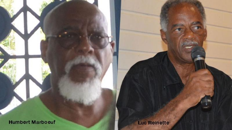 Guadeloupe. L'hommage de Luc Reinette à Humbert Marboeuf camarade de tous les combats !
