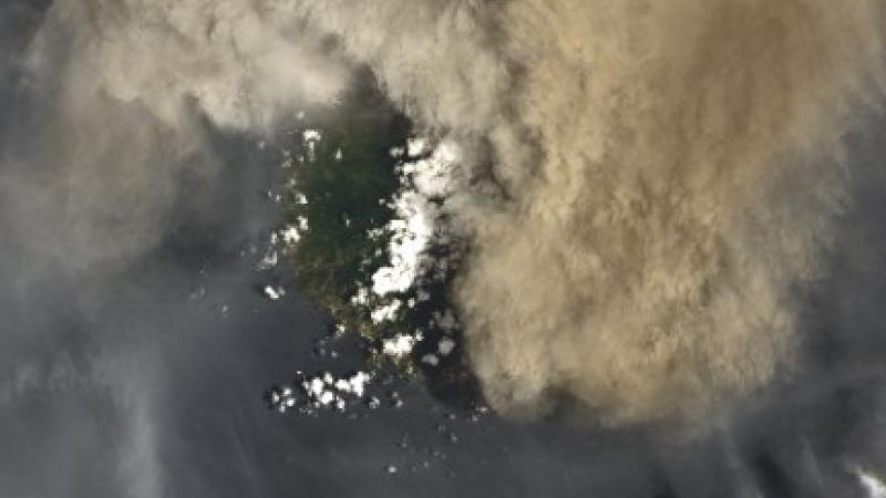 SenVensan 9 avril 2021 : Lè volkan LaSoufriyè koumansé pété