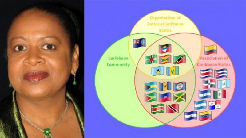 DR. JUNE SOOMER THE NEW SECRETARY GENERAL OF ASSOCIATION OF CARIBBEAN STATES